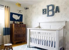 Project Nursery - All American Boy Vintage Nursery