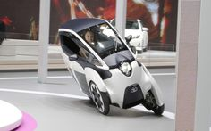 toyota-i-roard-concept-front-in-motion - Cool new leaning tech