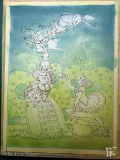 Béatrice Tillier: Alice, En avant vers le passé N°2