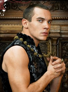 Jonathan Rhys Meyers as Henry VIII on The Tudors. He was hot in this role, but boy was I ready for this f*cker and his capricious nature to die by the end of the series. ;)