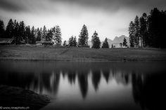 black lake chapfensee - www. Mountains, Black And White, Nature, Travel, Naturaleza, Viajes, Black N White, Black White, Destinations