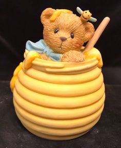 Cherished Teddies You're A Sweet Friend Covered Box #865184