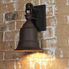 Liberty Bell Outdoor Wall Lantern