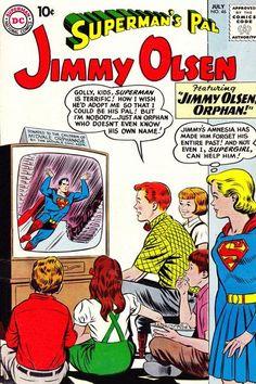 Cover for Superman's Pal, Jimmy Olsen (July 1960) #46