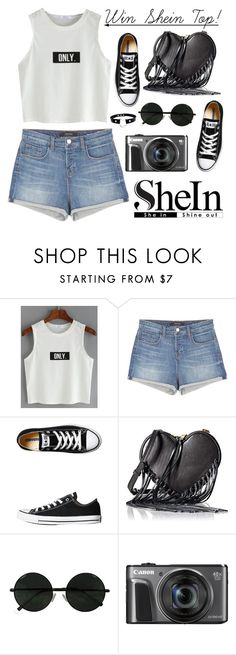 """""""Win a Shein Top! Contest in My Group!!"""" by dora04 ❤ liked on Polyvore featuring J Brand, Converse and Rebecca Minkoff"""