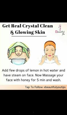Beauty Tips For Glowing Skin, Beauty Tips For Face, Natural Beauty Tips, Health And Beauty Tips, Beauty Skin, Natural Skin Care, Clear Skin Face, Face Skin Care, Diy Skin Care