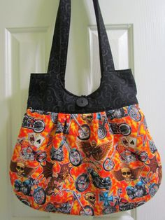 Easy Riders Purse by DustyCatDesigns on Etsy, $29.95