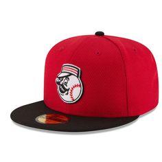 Cincinnati Reds New Era Game Diamond Era 59FIFTY Fitted Hat - Red/Black