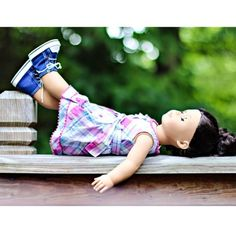 """High Tops 18"""" Doll Shoes 