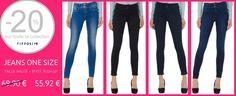 WWW.BELLENZZA.COM   Le jeans one size taille haute, de chez tiffosi, sera la pièce indispensable à se procurer d'urgence cette saison !