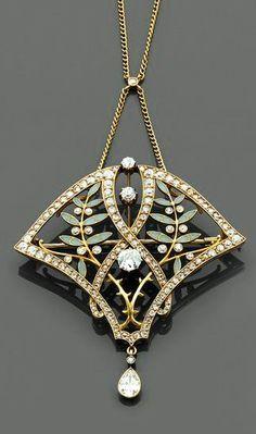 art nouveau jewellery - Google Search