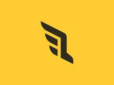 Run / Wings Logo Concept