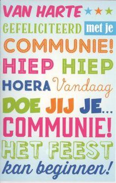 van harte gefeliciteerd met je eerste communie 23 best Communiekaarten images on Pinterest van harte gefeliciteerd met je eerste communie