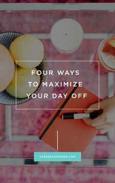 Why you need to plan your next personal day to get ahead
