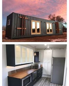 'The Intellectual' 40 ft container home, #Longmont #Colorado designed and built by Rootspace #interiors #interiordesign #architecture #decoration #interior #home #design #camper #bookofcabins #homedecor #decoration #decor #prefab #diy #lifestyle #compactliving #fineinteriors #cabin #shed #tinyhomes #tinyhouse #cabinfever #inspiration #tinyhousemovement #airstream #treehouse #cabinlife #cottage