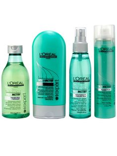Need Volume?  You just found a way to get it !!!!! The L'oreal  Professionnel Volumetry line.  Only available at L'Oreal Salons. Works differently than other volumizers.....the key word being WORKS !
