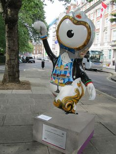 Olympic Mascots - Afternoon Tea Wenlock by JulesFoto, via Flickr
