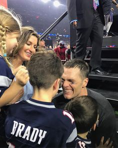 """See this Instagram photo by @tombrady """"My Everything"""" #SB51 @patriots"""