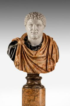 Bust of A Roman Emperor Caracalla (Ref No. 7139) - Windsor House Antiques