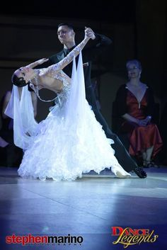 Victor Fung and Anastasia Muravyeva at Dance Legends 2014. Visit http://ballroomguide.com/workshop/standard.html for info about Standard workshops from the pros.