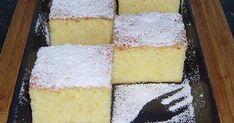 Mennyei Pillekönnyű grízes-túrós kevert recept! A legegyszerűbb süti, amit valaha készítettem. Egy kedves ismerősöm receptje alapján készült, kisebb változtatásokkal. Isteni finom, mindenkinek csak ajánlani tudom. A recept forrása: Lakosné Bán Erzsébet Baby Food Recipes, Cake Recipes, Hungarian Recipes, Sweet Desserts, Coffee Cake, No Bake Cake, Vanilla Cake, Crockpot Recipes, Sweet Treats