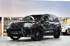 Восемь звёзд от GMG для тюнинга Toyota Land Cruiser 200