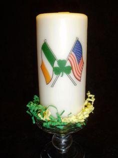 Irish American Candle 6 Candles, Irish Christmas, Irish American, Drinking Games, St Patricks Day, Ireland, Board, Holiday