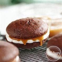 Salted Caramel Whoopie Pies from Pillsbury® Baking