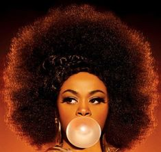 Jill Scott beautiful, bold, and talented... such a soulful singer.
