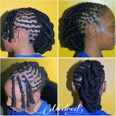 Long dreads style