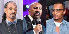 16 Brutal Tweets Destroying Steve Harvey for Telling Snoop and T.I. to Respect Trump | Steve Harvey | Celebrities | BET