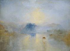Joseph Mallord William Turner (1775‑1851), Norham Castle, Sunrise, c. 1845. Tate.