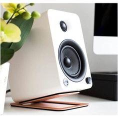 Kanto Desktop Speaker Stands for Midsize Speakers Desktop Speakers, Big Speakers, Sound Speaker, Powered Speakers, Bookshelf Speakers, Monitor Speakers, Bluetooth Speakers, Desk Speaker Stands, Speaker Mounts