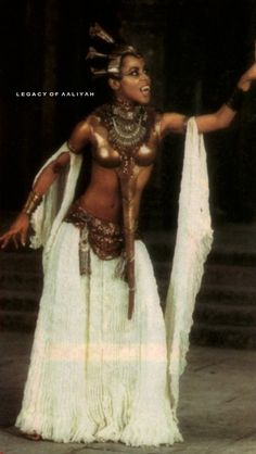 """Legacy Of Aaliyah: Aaliyah as Akasha in the """"Queen Of The Damned""""."""