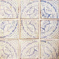 maghreb 1 cement tiles by tabarka studio at ann sacks- pretty for backsplash Tabarka Tile, Mosaic Tiles, Cement Tiles, Tiling, Tile Art, Painting Tile Floors, Kitchen Backsplash, Slate Kitchen, Kitchen Sofa