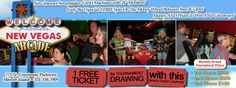 FREE $500 CASH GIVE AWAY THIS SATURDAY 26th MAY BETWEEN 7-11pm. Get A FREE And An EXTRA Ticket For Every $20 Spent!!!  *Just Installed* 20 New Internet Machines With Jackpot CASH Prizes:) http://spacecoastcouponsofbrevard.com/coupons/new-vegas-arcade-2