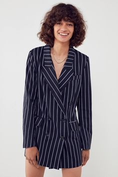 Ghospell Alchemy Double-Breasted Blazer | Urban Outfitters