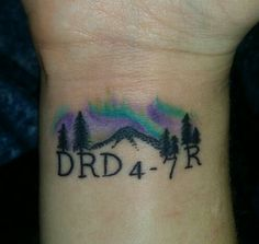 Researchers have repeatedly tied the variant, known as DRD4-7R and carried by roughly 20 percent of all humans, to curiosity and restlessness. Dozens of human studies have found that 7R makes people more likely to take risks; explore new places :) Tattoo by Doug Webb ofn5 star tattoo in NY.