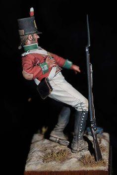 of Foot - 1800 - Virtual Museum of Historical Miniatures Military Figures, Military Art, Military History, Empire, Mandan Indians, Fife And Drum, Airsoft, British Uniforms, Crime