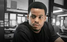 THE WIRE Leander Sydnor - See photos of the HBO Crime/Drama Baltimore TV series