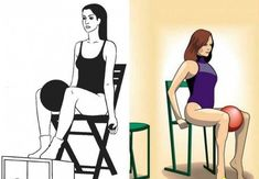 все фото из свободных источников pinterest.com Yoga Fitness, Health Fitness, Fitness Sport, Massage Tips, Health Department, How To Lose Weight Fast, Pilates, Fit Women, Thighs