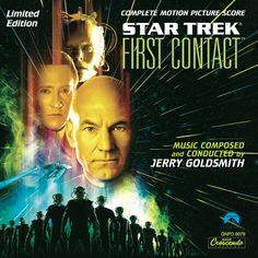 Star Trek: First Contact Limited Edition Complete Motion Picture Score [Jerry Goldsmith], GNP Crescendo Records