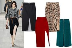 Trend to Try Now: High-Slit Skirts