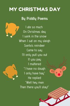 Christmas poems are perfect to share with your family and friends. And to help you out, here are over 20 examples of Christmas poems for kids. Advent For Kids, Advent Calendars For Kids, Christmas Poems, Christmas And New Year, Small Gifts, Gifts For Kids, Pre Primer Sight Words, Disposable Tableware, Sight Word Activities