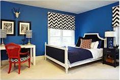 Image result for dark blue rooms
