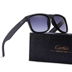 bf32a836f7 Carfia Retro Polarized Sunglasses Womens Mens Casual Sports Sunglasses for  Driving Travel Golf Fishing 100 UV Protection     Continue to the product  at the ...