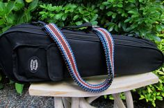 Handwoven Shoulder Strap Great for your Gig Bag by westcoastweave
