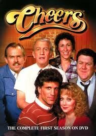 Cheers.   The original cast. I loved this show and everyone can sing the themesong. That little piano intro is famous. Sam and Diane fought like cats and dogs but when they fell in love, everything went to pot and Shelly left the show. The coach died and Woody came onto the scene. Those characters are ingrained into our heads and so beloved that Fraiser was spun off and had many seasons of success.