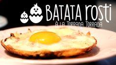 BATATA ROSTI com Ovo e Bacon | Receita #96 TORRADA TORRADA