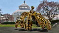 Kusama: Cosmic Natureis a recently opened exhibitat the New York Botanical Garden.